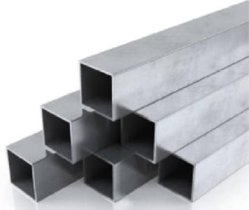 Alumínium négyzet zártszelvény