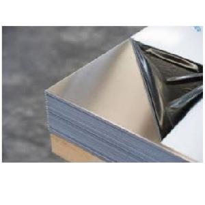 Rozsdamentes polírozott+lézerfóliázott lemez